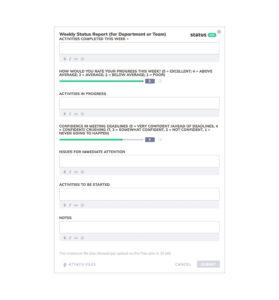 A Great Business Development Status Report Template | Free intended for Development Status Report Template