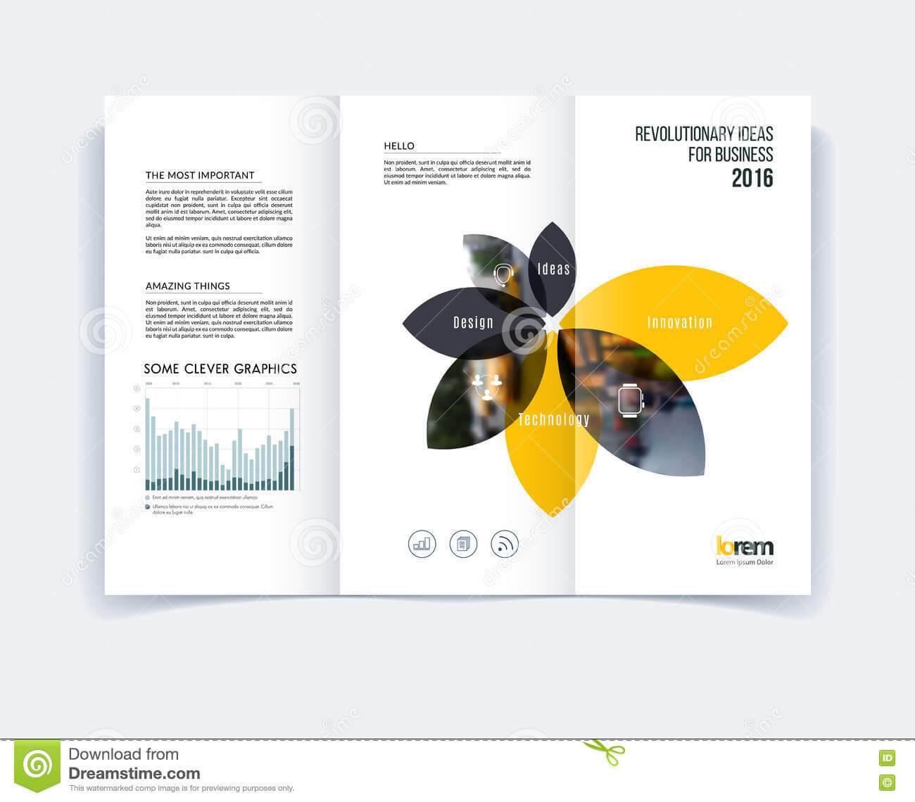 A4 Tri Fold Brochure Template Psd Free Download Templates In Engineering Brochure Templates