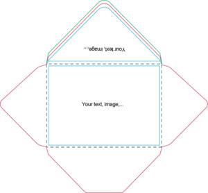 A7 Envelope Template | Craft Ideas | Handmade Envelopes, Diy throughout Envelope Templates For Card Making