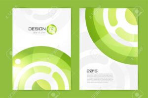 Abstract Brochure Or Flyer Design Template. Book Design, Blank,.. Throughout Blank Templates For Flyers