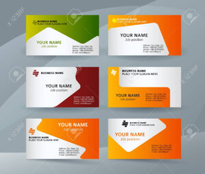 Abstract Professional And Designer Business Card Template Or.. for Professional Name Card Template