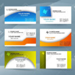 Abstract Professional And Designer Business Card Template Or.. Within Professional Name Card Template