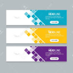 Abstract Web Banner Design Template Inside Website Banner Design Templates