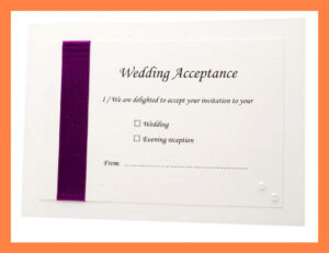 Acceptance Card Template Full Wedding 20 Acceptance 20 Card within Acceptance Card Template