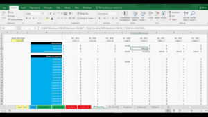 Accounts Receivable And Payable Tracking Template In Excel regarding Accounts Receivable Report Template