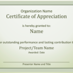 Acknowledge Outstanding Performance Certificate Of Intended For Best Performance Certificate Template