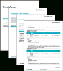 Admin Discovery Report – Sc Report Template | Tenable® with Nessus Report Templates