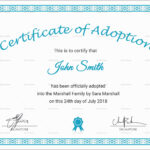 Adoption Birth Certificate Uk Unique Template Child Adoption Pertaining To Child Adoption Certificate Template