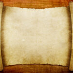 Advanced Blank Scroll Paper Backgrounds For Powerpoint In Scroll Paper Template Word