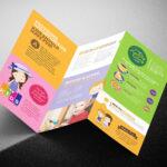 After School Care Tri Fold Brochure Template In Psd, Ai Inside Tri Fold School Brochure Template