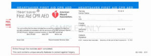 Aha Cpr Card Template Fresh Fraud Warning – Template Modern within Cpr Card Template