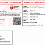Aha Cpr Card Template | Template Modern Design Throughout Cpr Card Template