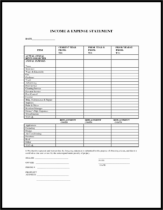 Air Balance Report Template Lovely Blank In E Statement inside Air Balance Report Template