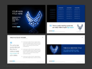 Air Force Powerpoint Template Designs – Trashedgraphics inside Air Force Powerpoint Template