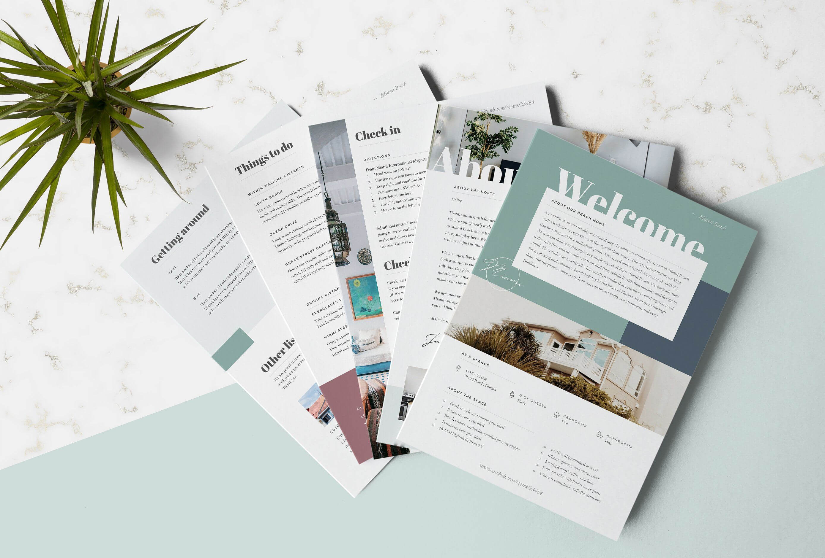 Airbnb Welcome Book Template #basic#recommend#microsoft Throughout Welcome Brochure Template