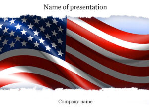 American Flag Powerpoint Template | Templates | Templates for American Flag Powerpoint Template