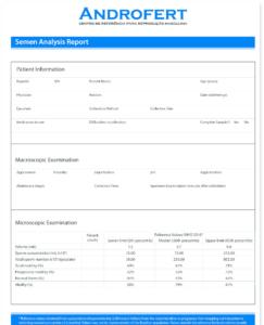 Analysis Report Template Modifi Semen The Main Difference Regarding Failure Analysis Report Template