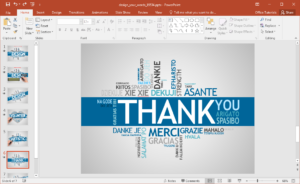 Animated Design Your Words Powerpoint Template regarding How To Design A Powerpoint Template