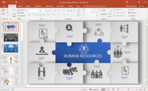 Animated Hr Powerpoint Template With Regard To Powerpoint Replace Template