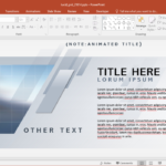 Animated Lucid Grid Powerpoint Template Pertaining To Powerpoint Replace Template