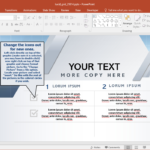 Animated Lucid Grid Powerpoint Template Regarding Powerpoint Replace Template