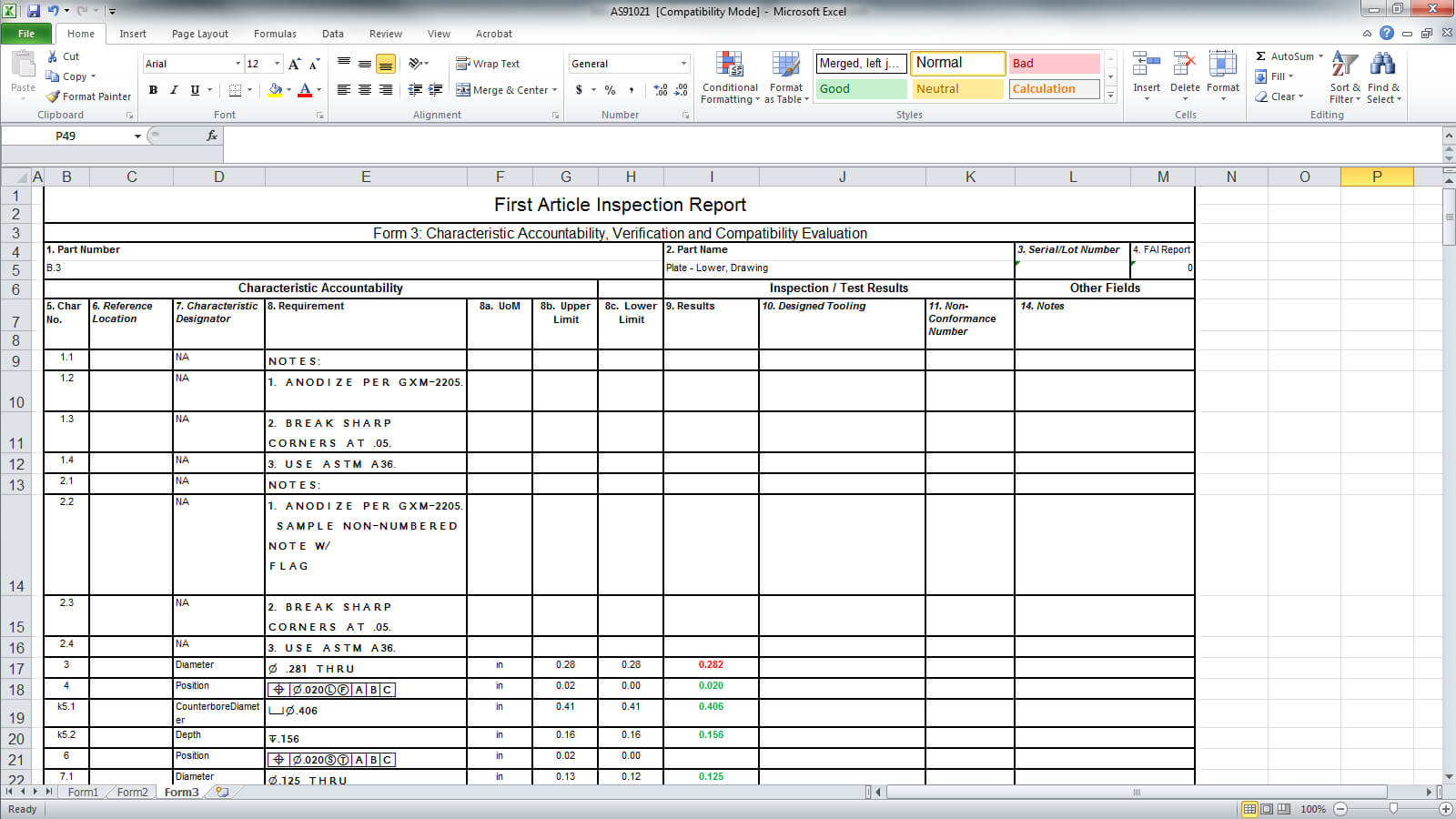 Announcing Solidworks Inspection For Engineering Inspection Report Template
