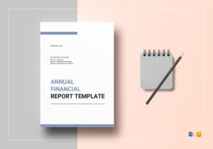 Annual Financial Report Template within Annual Financial Report Template Word