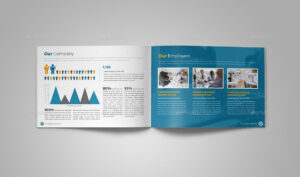 Annual Report Brochure Indesign Template 5 #report, #annual within Brochure Templates Adobe Illustrator