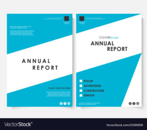 Annual Report Cover Design Template with Ind Annual Report Template
