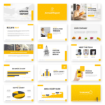 Annual Report Powerpoint Template – Free Presentations Throughout Good Report Templates
