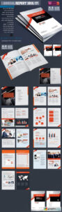 Annual Report Template 1067085 » Free Download Vector Stock with Ind Annual Report Template