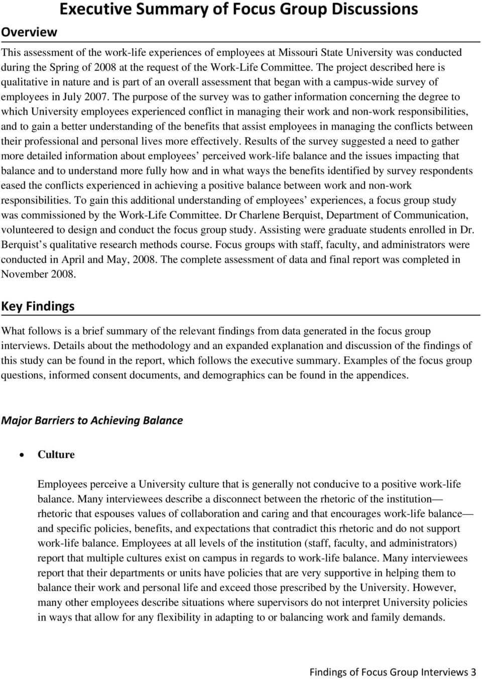 Appendix C Report Of Focus Group Discussions – Pdf Throughout Focus Group Discussion Report Template