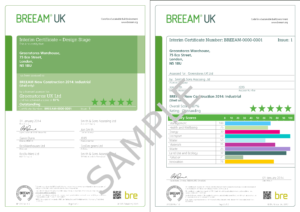 Appendix F – Examples Of Breeam Uk New Construction Certificates with Construction Payment Certificate Template
