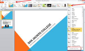 Applying And Modifying Themes In Powerpoint 2010 intended for Change Template In Powerpoint