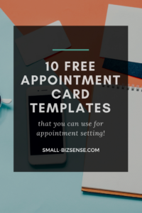 Appointment Card Template: 10 Free Resources For Small with regard to Appointment Card Template Word
