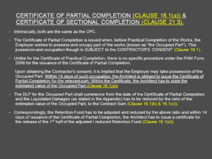 Architect's Certification Under The Pam Contract 2006 with regard to Practical Completion Certificate Template Jct