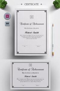 Arp – Certificate Template | Design | Certificate Design regarding Indesign Certificate Template