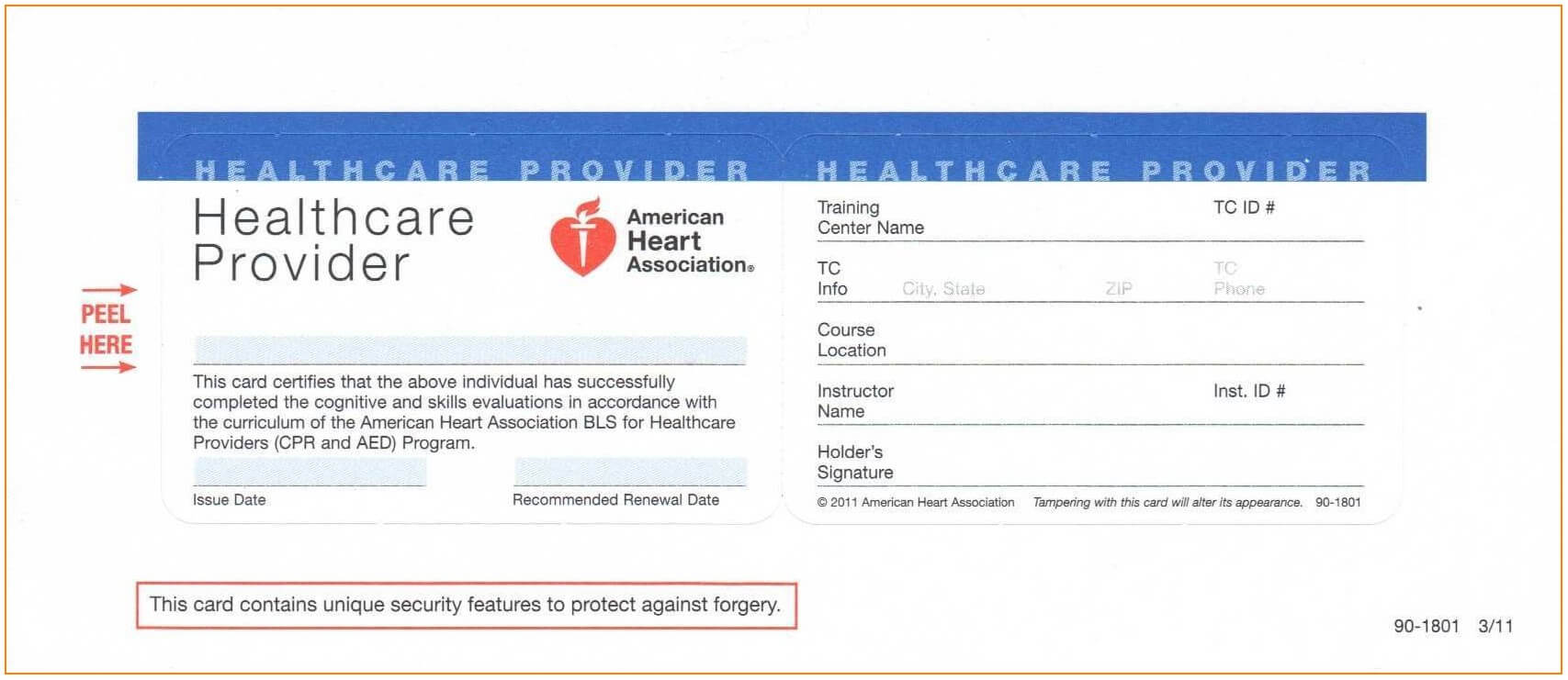 Ashi Cpr Card Template - Template : Resume Examples #1Q37Wd53Y8 Inside Cpr Card Template
