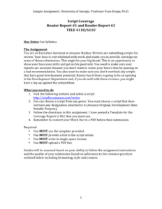 Assignment Report Writing Sample in Assignment Report Template