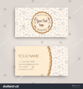 At Home Bakery Business Cards Images Ideas Sample Kit Free inside Cake Business Cards Templates Free