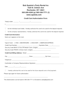 Authorization Form Template Example Mughals (Free Credit within Credit Card Authorization Form Template Word