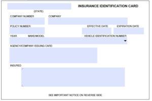 Auto Insurance Id Card Template On Auto Insurance Card for Car Insurance Card Template Download