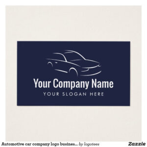 Automotive Car Company Logo Business Card Template | Zazzle intended for Automotive Business Card Templates