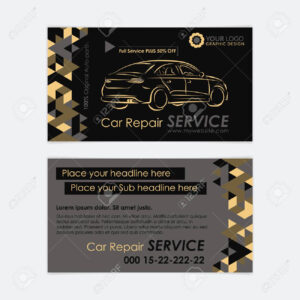 Automotive Service Business Card Template. Car Diagnostics And.. with regard to Automotive Business Card Templates