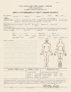 Autopsy Report Example Sample Form Coroners Template Uk regarding Blank Autopsy Report Template