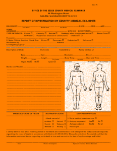 Autopsy Report Example Template Pdf Sample Philippines in Coroner's Report Template