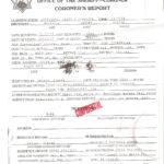 Autopsy Report Template Coroners Format Sample Nes Download Regarding Coroner's Report Template