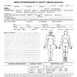 Autopsy Report Template Google Docs Blank Coroners Format pertaining to Coroner's Report Template