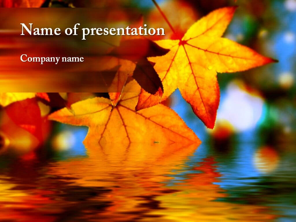 Autumn Powerpoint Template | Autumn Awesome | Powerpoint Within Free Fall Powerpoint Templates