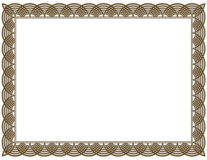 Award Certificate Border Pdf Template In Certificate Border within Award Certificate Border Template